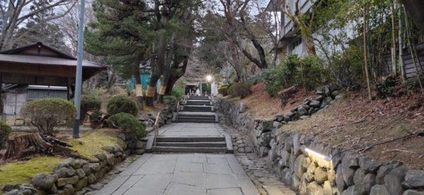 鹽竈神社 裏参道